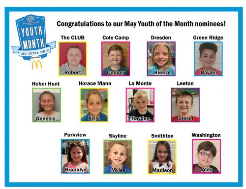 BGC names May Youth of the Month nominees