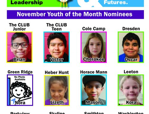 BGC names November Youth of the Month nominees