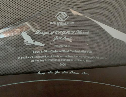 Boys & Girls Club Board wins gold League of EAGLES Award